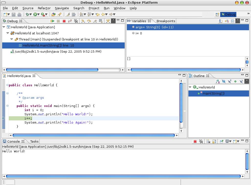 Java Programming w/ Eclipse