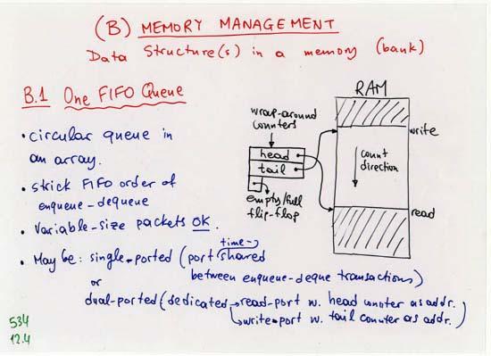 3  Buffer Memory (U Crete, CS-534)